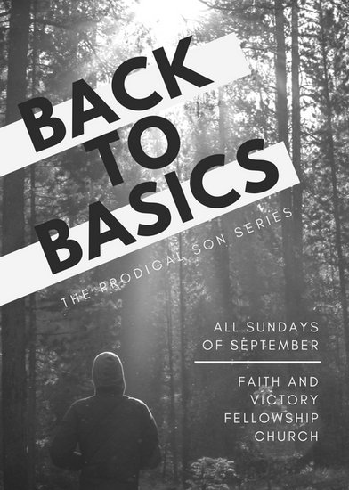 Black and White Back to Basics Series Church Flyer - Templates by - black and white flyer template