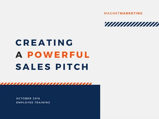 Creating A Sales Pitch Presentation - Templates by Canva