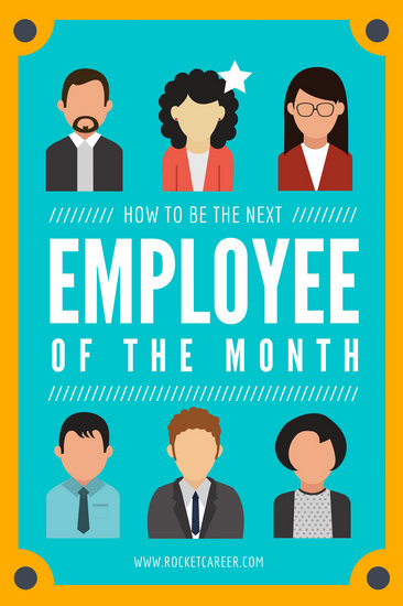 Orange Border Employee of the Month Blog Graphic - Templates by Canva
