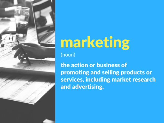 Vibrant Marketing Presentation - Templates by Canva