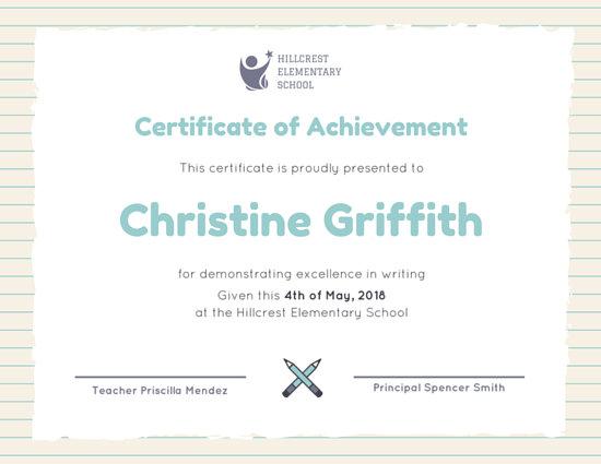 Customize 101+ Achievement Certificate templates online - Canva