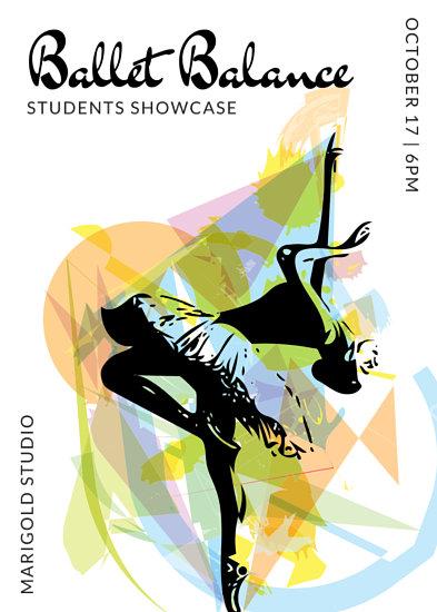 Cute Modern Wallpapers Customize 83 Dance Flyer Templates Online Canva