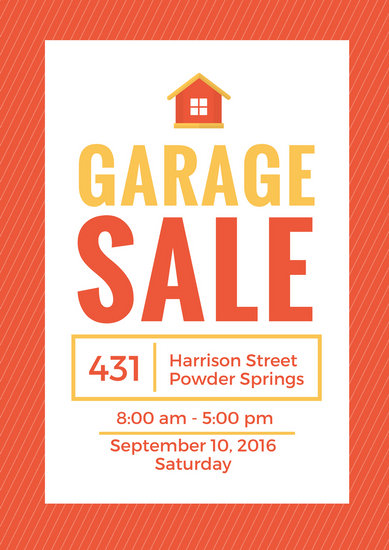 Yard Sale Flyer - Templates by Canva - yard sale flyer template
