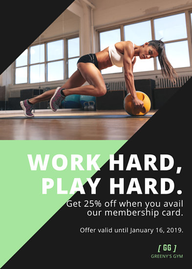 Customize 102+ Fitness Flyer templates online - Canva