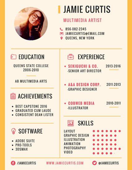 How To Write A Resume Or Cv In English Thoughtco Prominent Business Manager Resume Templates By Canva