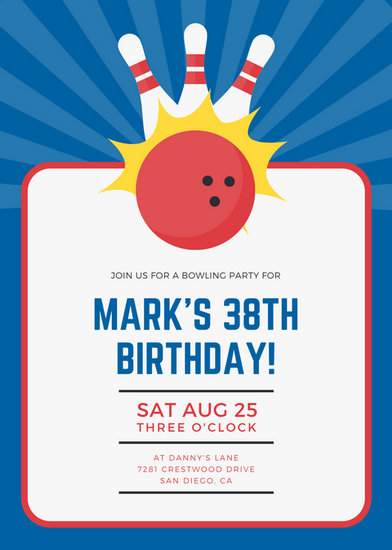 Customize 2,040+ Birthday Invitation templates online - Canva - invitation birthday template