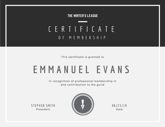Customize 1,968+ Certificate templates online - Canva - certification templates
