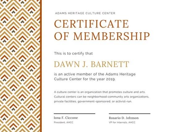 Life Membership Certificate Template 37 certificate formats free – Membership Certificate Template