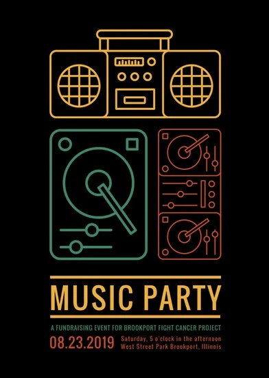 Customize 199+ Music Flyer templates online - Canva