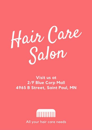 Customize 67+ Hair Salon Flyer templates online - Canva - hair salon sign in sheet