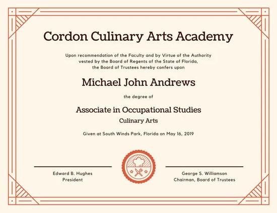 Customize 71+ Diploma Certificate templates online - Canva
