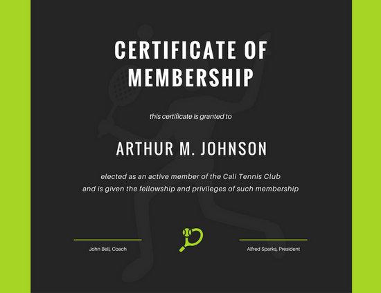 Customize 64+ Membership Certificate templates online - Canva