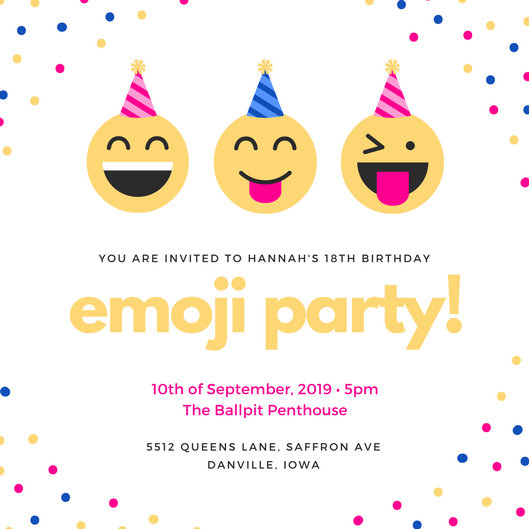 Doc#600800 Free 18th Birthday Invitation Templates u2013 The 170 - free 18th birthday invitation templates