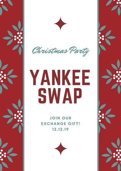 Customize 72+ Christmas Flyer templates online - Canva - christmas luncheon flyer
