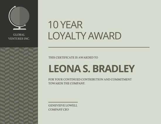 Award Certificate Templates - Canva - award certificates templates