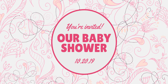 Customize 832+ Baby Shower Invitation templates online - Canva - Free Online Baby Shower Invitations Templates