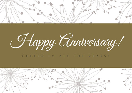 Customize 87+ Anniversary Card templates online - Canva