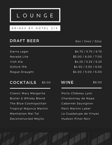 Customize 528+ Drink Menu templates online - Canva