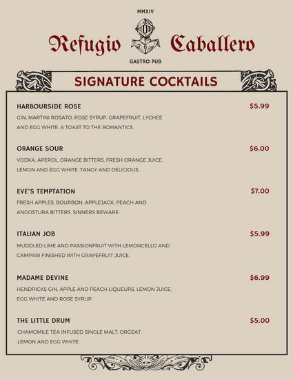 Customize 2,221+ Menu templates online - Canva - food menu template