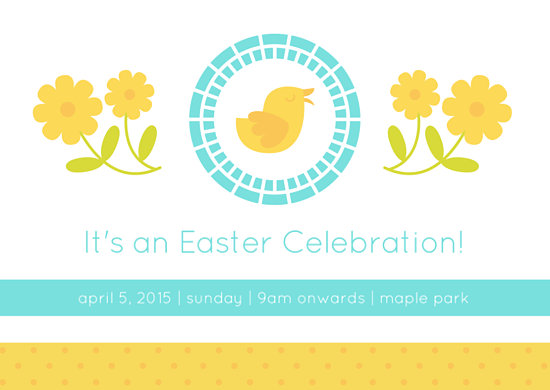 Adorable Easter Invitation Card - Templates by Canva - easter invitations template