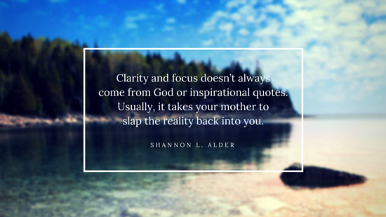 Blurred Nature Mother Quote Wide Presentation - Templates by Canva - quote on presentation