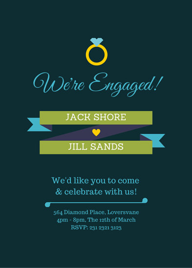 Customize 3,999+ Engagement Party Invitation templates online - Canva