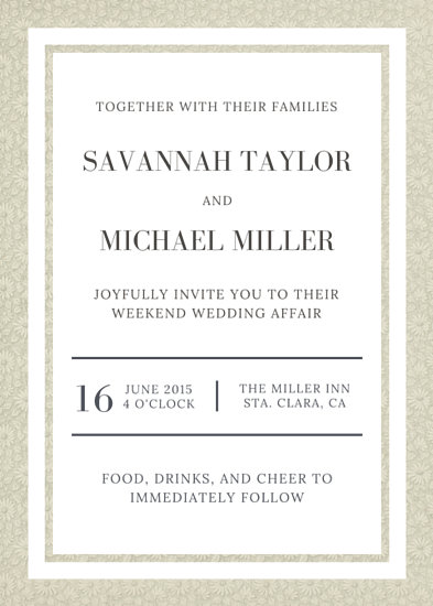 Customize 1,381+ Wedding Invitation templates online - Canva - Invitations Templates