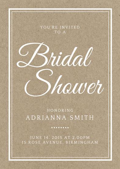 11 bridal shower invitation postcards