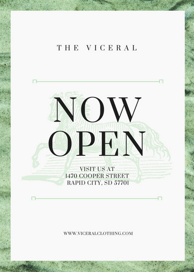 The Viceral Flyer Layout - Templates by Canva