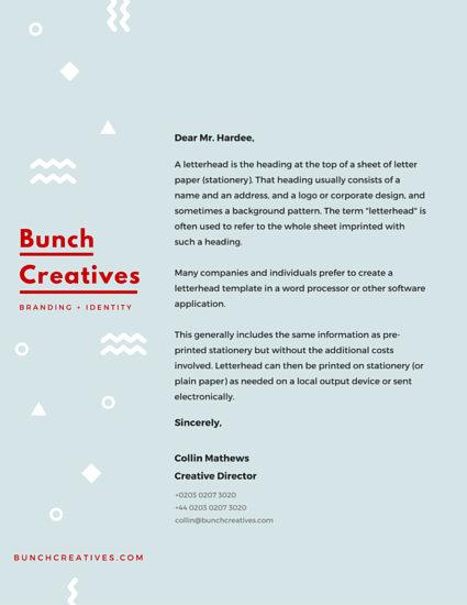 Customize 180+ Business Letterhead templates online - Canva