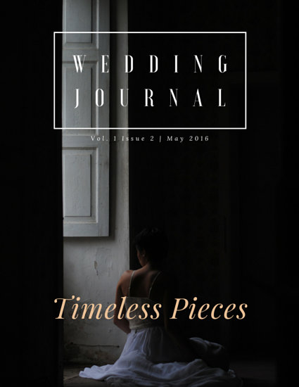 Classic Wedding Journal eBook Cover - Templates by Canva