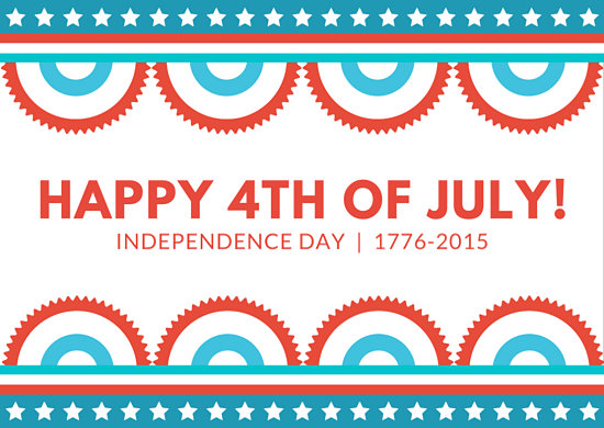 Customize 459+ 4th of July Card templates online - Canva