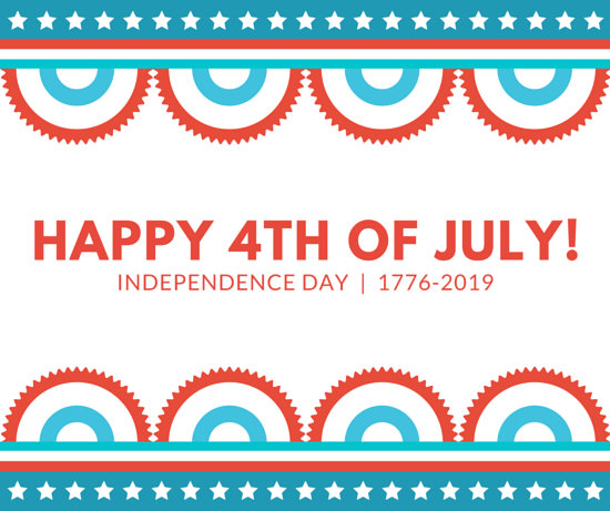 Happy 4Th of July Facebook Post - Templates by Canva - 4th of july template
