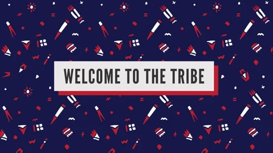 Positive Vibes Quotes Wallpaper Tribe Welcome Desktop Wallpaper Templates By Canva
