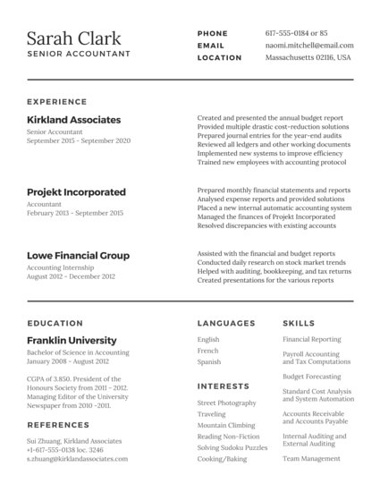 Professional Musician Resume - Templates by Canva