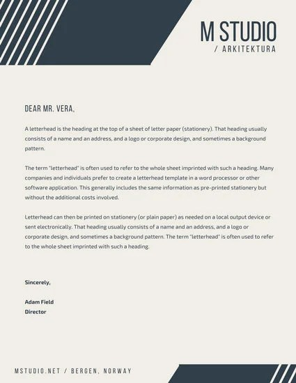 Customize 178+ Business Letterhead templates online - Canva - business letterhead