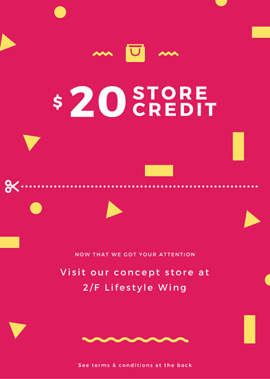 Store Credit Promotional Coupon Flyer - Templates by Canva - coupon flyer