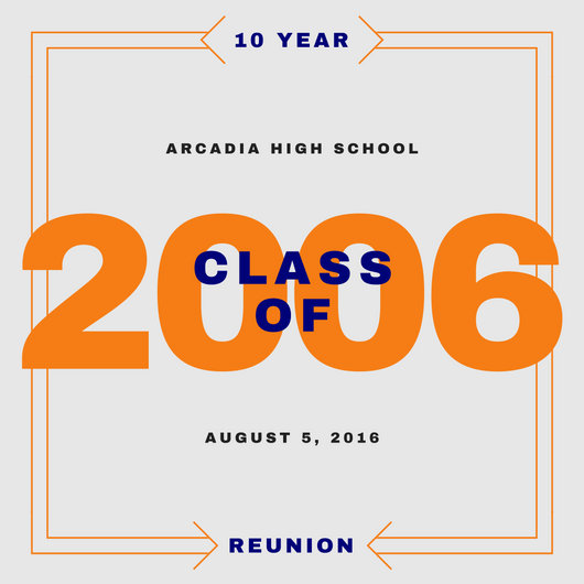 Class Reunion High School Invitation - Templates by Canva