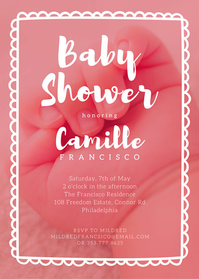Baby Shower Invitation Templates - Canva - baby shower invite template free