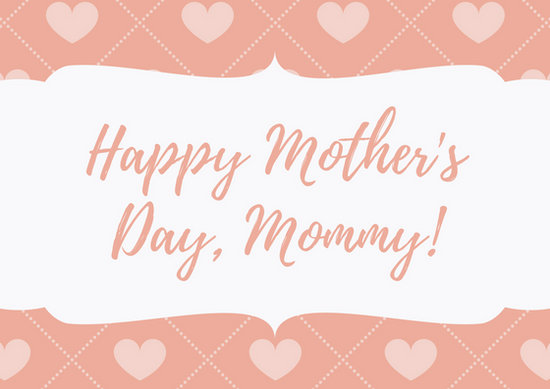 Mother\u0027s Day Card - Templates by Canva - mothers day card template