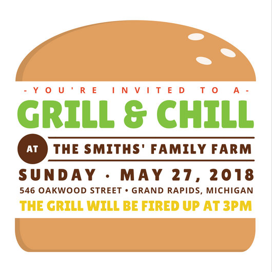 Burger Family Reunion Invitation - Templates by Canva