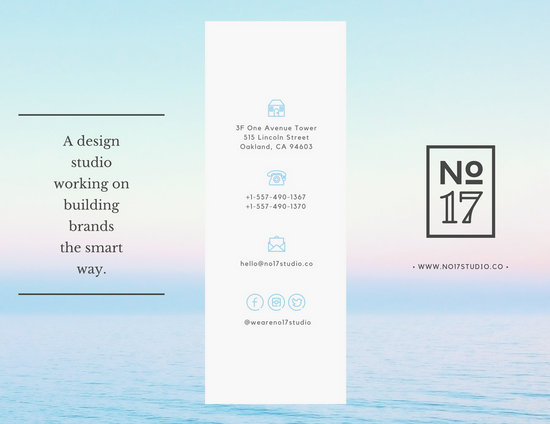 17 Design Studio Brochure - Templates by Canva - studio brochure