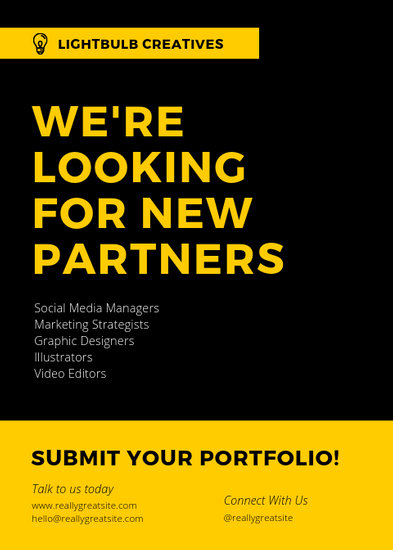 Customize 72+ Job Vacancy Announcement templates online - Canva