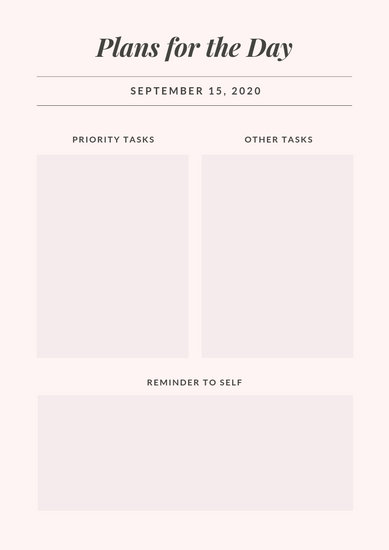 Customize 70+ Daily Planner templates online - Canva