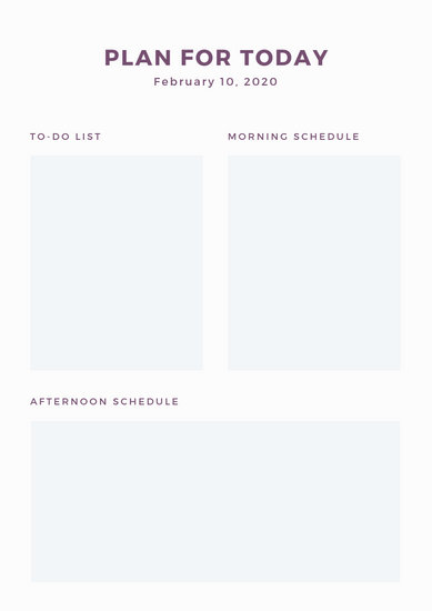 Customize 86+ Weekly Schedule Planner templates online - Canva