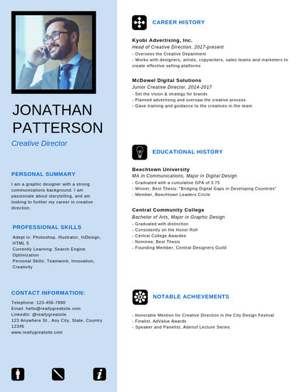 Neat Professional Resume - Templates by Canva