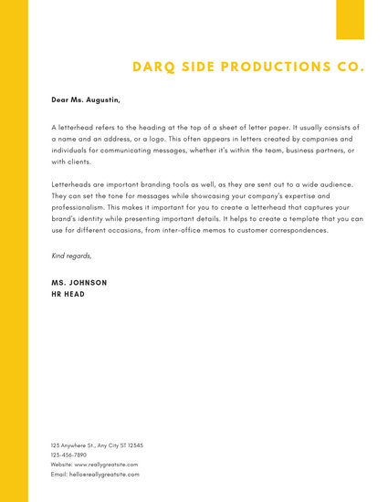 Customize 745+ Letterhead templates online - Canva