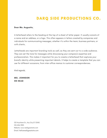 Customize 734+ Letterhead templates online - Canva