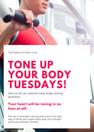 Customize 65+ Fitness Flyer templates online - Canva
