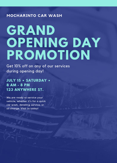 Customize 78+ Grand Opening Flyer templates online - Canva